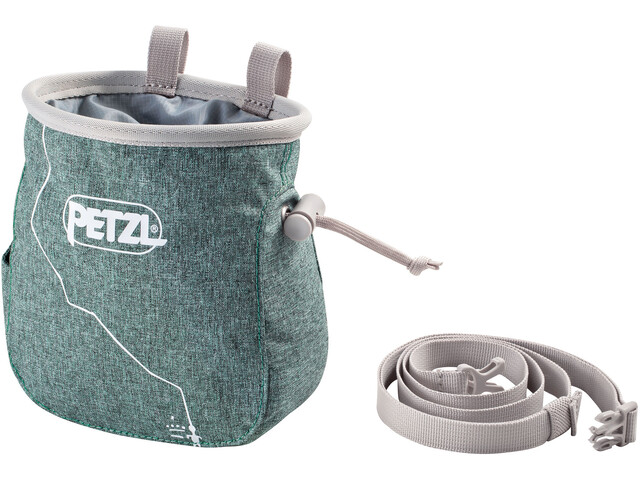 Petzl Saka Chalk Bag green